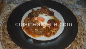 Boulettes de viande hachée au four
