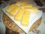 Biscuit à la crème à l'orange et crème chantilly