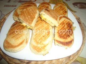 Pain panini maison