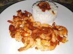 Crevettes à la sauce tomate
