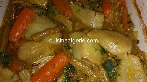 Tadjine de légumes au four (genre gratin)