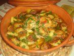 Boulettes de courgettes et carottes en Tajine
