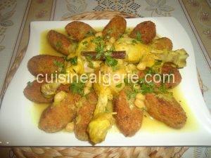 Tajine El-Djedj (Tajine au poulet)