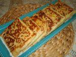 Crêpes fourrées aux courgettes et fromage