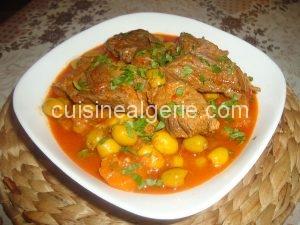 Tajine zitoune (sauce rouge)