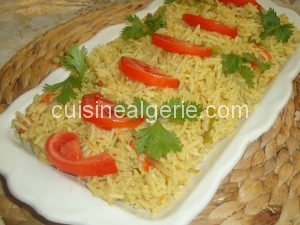 Riz Basmati au curry