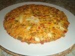 Tortilla aux haricots verts