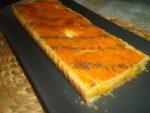 Tourte carotte, béchamel et fromage