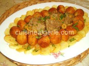 Tajine de boulettes de riz