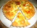 Quiche aux épinards et Mozzarella