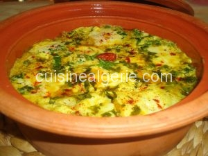 Tajine de pommes de terre et fromage