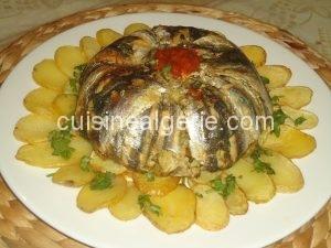 Sardines à la chermoula au four