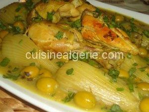 Tajine de fenouils aux olives