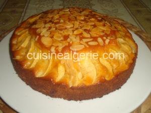Gâteau aux pommes et yaourt