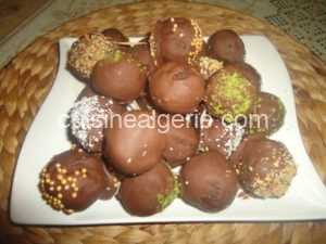Cake balls truffés au chocolat
