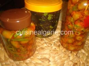 Zitoun Mchermel (Olives marinées)