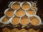 Sablés aux cacahuètes et halwat turc