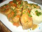 Boulettes de poulet aux champignons et carottes