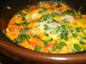 Omelette à la marocaine